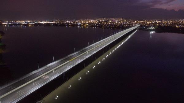 eurofinsa construye puente que aumentara la seguridad vial entre guayaquil y samborondon